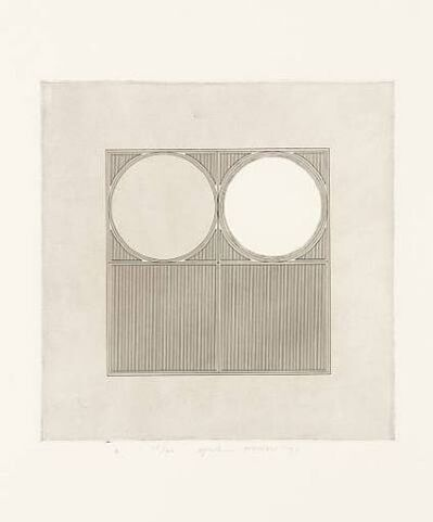 Gordon House, 'Arcs with a Square', 1971
