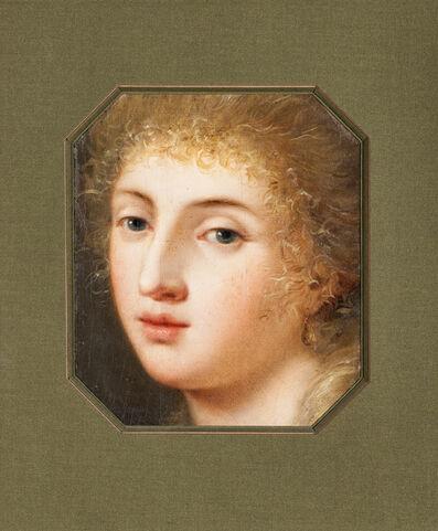 Benigne Gagneraux, 'Portrait de jeune fille'