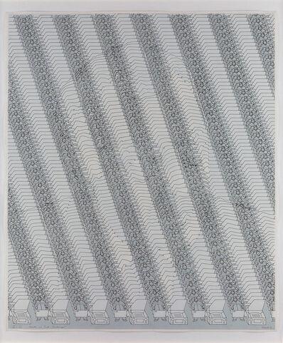Thomas Bayrle, 'Agnelli im Fiat-Dschungel (grau) (Agnelli in the Fiat-Jungle [gray])', 1971