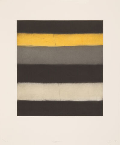 Sean Scully, 'Yellow', 2018