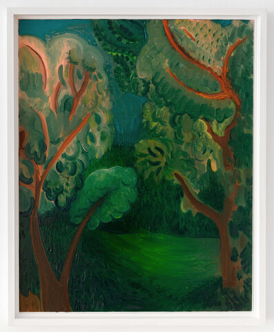André Ethier, 'Untitled (Two Trees Spring)', 2017