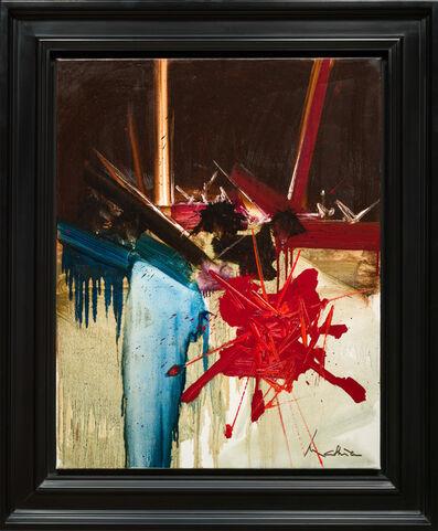 Georges Mathieu, 'Soupirs Creux', 1987