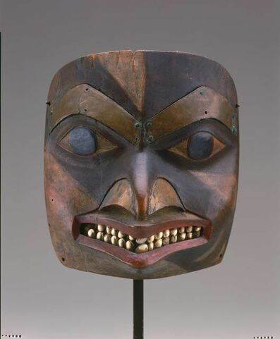 Tsimshian, British Columbia, 'Maskette', ca. 1780