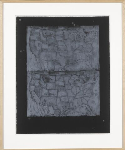 Jasper Johns, 'Two Maps I (ULAE 23)', 1966