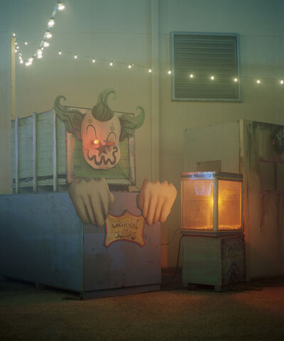 Rachel Louise Brown, 'Carnival of Creeps. Fright Night, West Palm Beach.', 2017