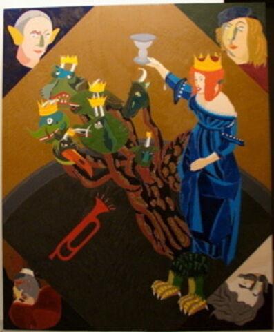 Eduardo Arroyo, 'La Gran Prostituta de Babilonia', 2003