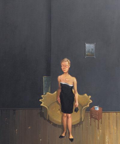 Rodrigo Cunha, 'Mulher com vestido bicolor', 2009