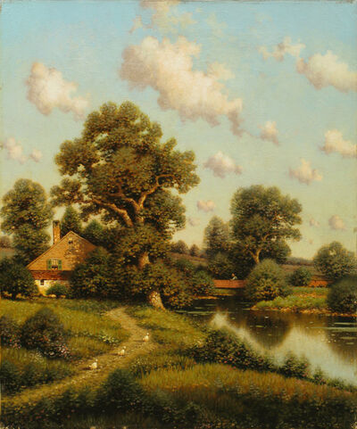 George Drew, 'A Sunny Afternoon, New England'
