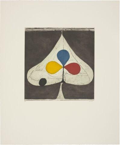 Richard Diebenkorn, 'Tri-color II', 1981