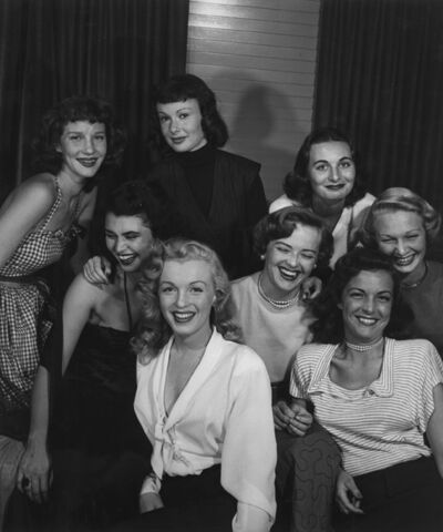 Philippe Halsman, 'Group of Starlets and Marilyn Monroe', 1949-printed later
