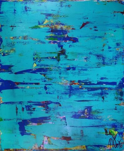 Nestor Toro, 'Blue (Coast paradise)', 2019