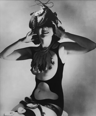 Horst P. Horst, 'Lobster Salvador I (Dali Costume)', ca. 1939