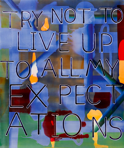 Graham Gillmore, 'Expectations', 2015