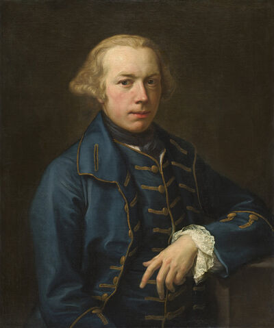 Pompeo Batoni, 'Portrait of a Gentleman', ca. 1762
