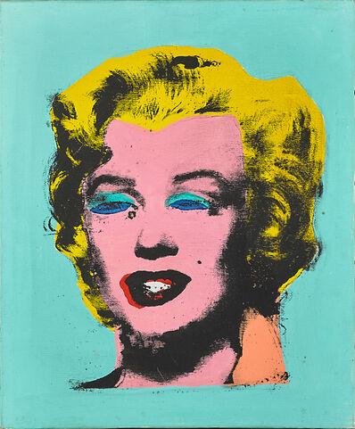 Elaine Frances (Horan) Sturtevant, 'Warhol's Marilyn Monroe', 1985
