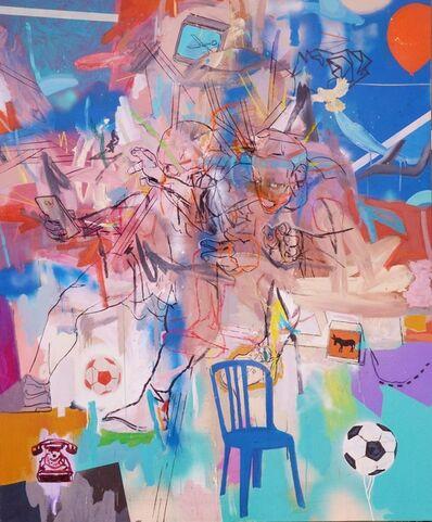 Thameur Mejri, 'Blue Chair', 2018
