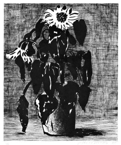 David Hockney, 'Sunflowers I', 1995