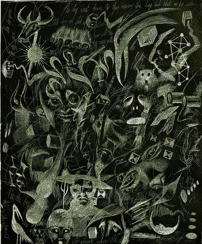 Ashley Bickerton, 'Black Doodle', 2006