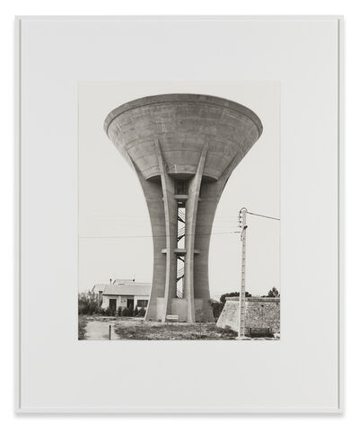 Bernd and Hilla Becher, 'Water Tower, St. Jean-de-Vedas, F', 1984