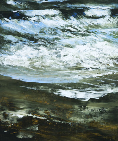 Réal Calder, 'Écume de l'aurore', 2014