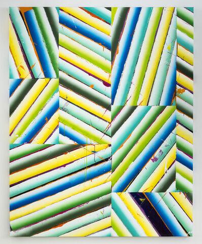 Nathan Green, 'Sheetrock Slip/Strike (GBY)', 2015