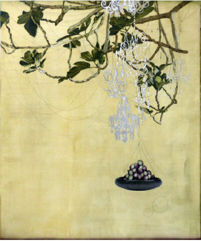 Kaoru Mansour, 'Figs and Chandeliers'