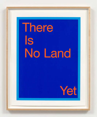 Renée Green, 'There Is No Land Yet', 2020