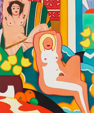 Tom Wesselmann, 'Sunset Nude with Matisse Odalisque', 2003
