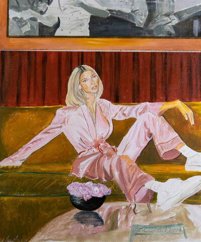 Vahid Sharifian, 'Golden Pink', 2019