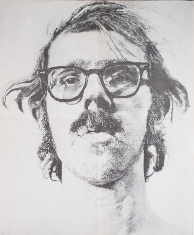 Chuck Close, 'Bykert Gallery, Chuck Close, Poster ', 1973