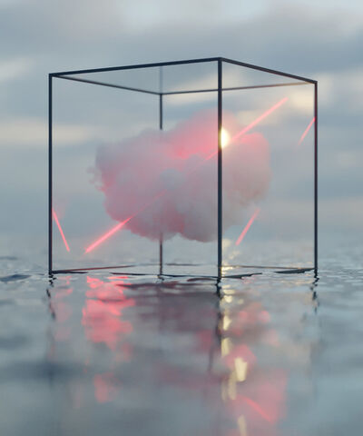David Stenbeck, 'Caged Cloud', 2019