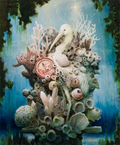 Kevin Sloan, 'A Sculpture at the Bottom of the Sea', 2020
