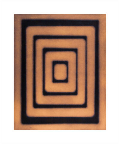Ted Kincaid, 'Untitled (concentric rectangles) 11/25', 2001