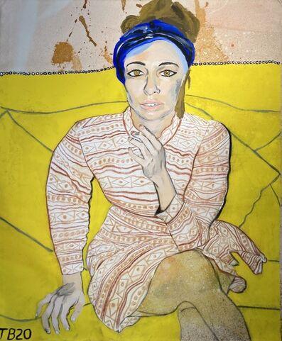 Theodore Buyer, 'Portrait Of Mrs. Rosenthal', 2020