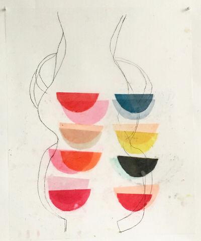 Vicki Sher, 'Untitled (Vase Shapes)', 2017