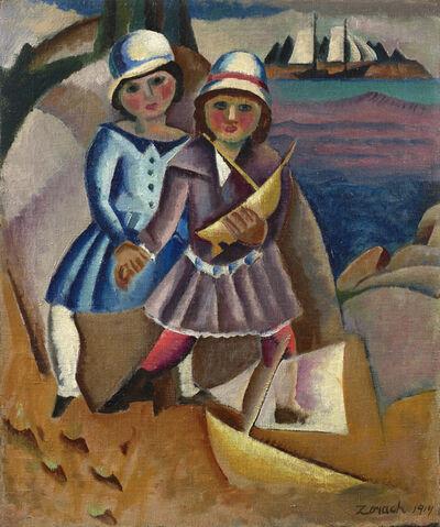 William Zorach, 'Fishermen's Children', 1919