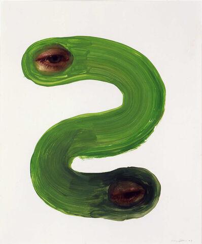 Tony Oursler, 'Study for 2 Eyed Snake', 2003
