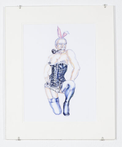 Margaret Harrison, 'He's Only a Bunny Boy But He's Quite Nice Really', 2011