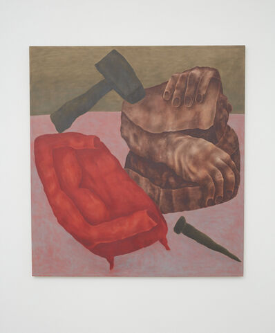 Ginny Casey, 'Couch and Carving', 2017
