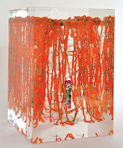 Susi Kramer, 'IKAT orange', 2016