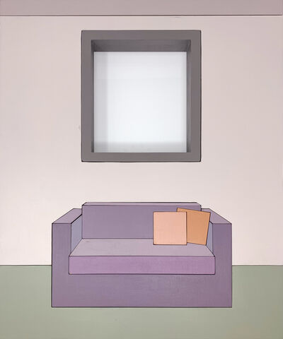 Zsofia Schweger, 'Form Becoming Feeling #1 (Loveseat), after Frank Lloyd Wright's engagement with Froebel's Kindergarten Gifts', 2019