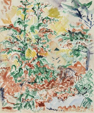 John Marin, 'Autumn Foliage', 1913
