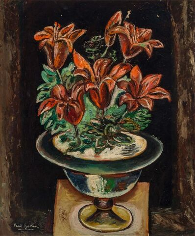Paul Burlin, 'Red Lillies', 1929