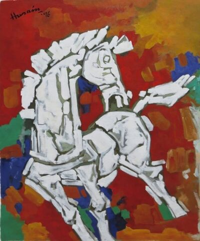 M. F. Husain, 'Untitled ', 1996