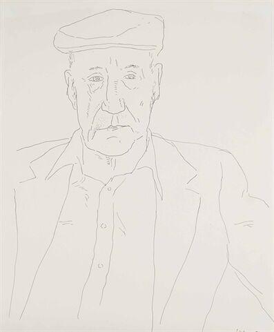 David Hockney, 'William Burroughs'