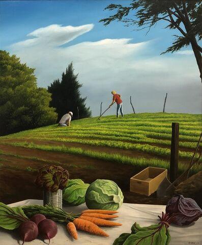 Anthony Benton Gude, 'Vineyard Farmstead', 2017
