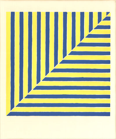 Frank Stella, 'Untitled (Rabat) (From Ten Works by Ten Painters)', 1964