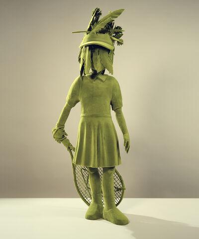 Kim Simonsson, 'Mossgirl With Tool', 2020