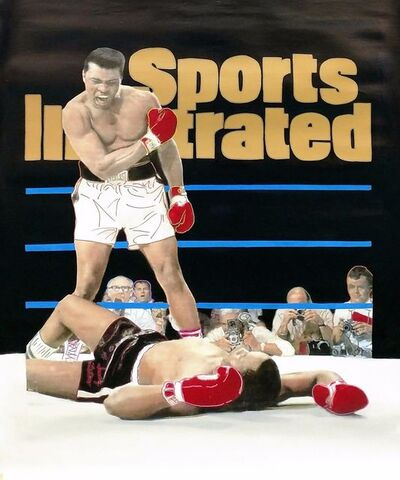 Steve Kaufman, 'MUHAMMAD ALI- SPORTS ILLUSTRATED COVER', 1995-2005