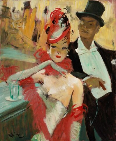 Jean Gabriel Domergue, 'Chatam's Bar'